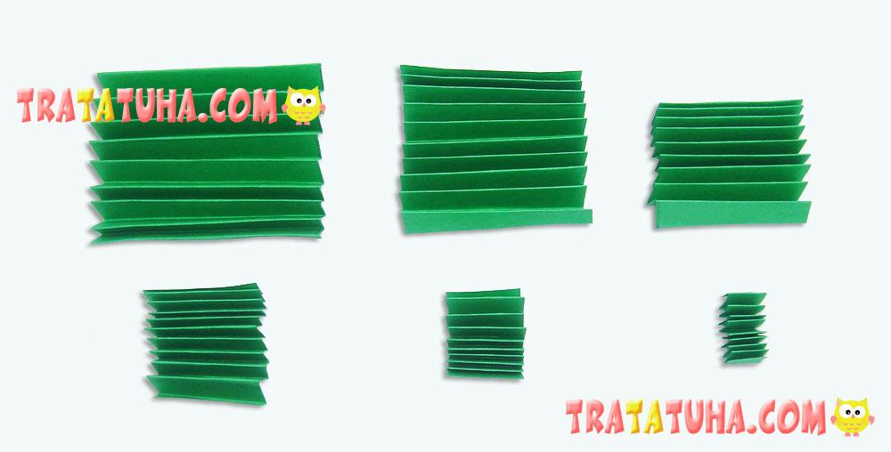 Accordion Christmas Tree 3D Pop Up Card