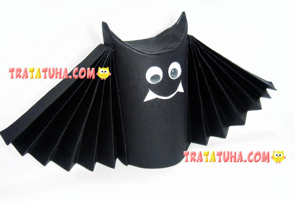 Toilet Paper Roll Bat