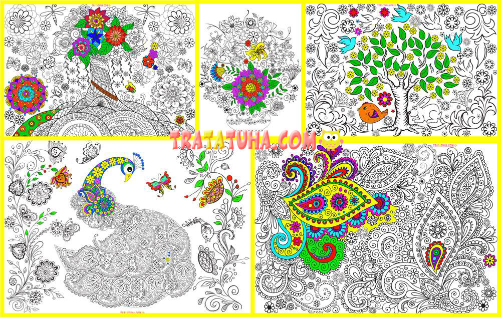 Free Coloring Pages for Adults Read more at: http://tratatuha.com/free-coloring-pages-for-adults.html