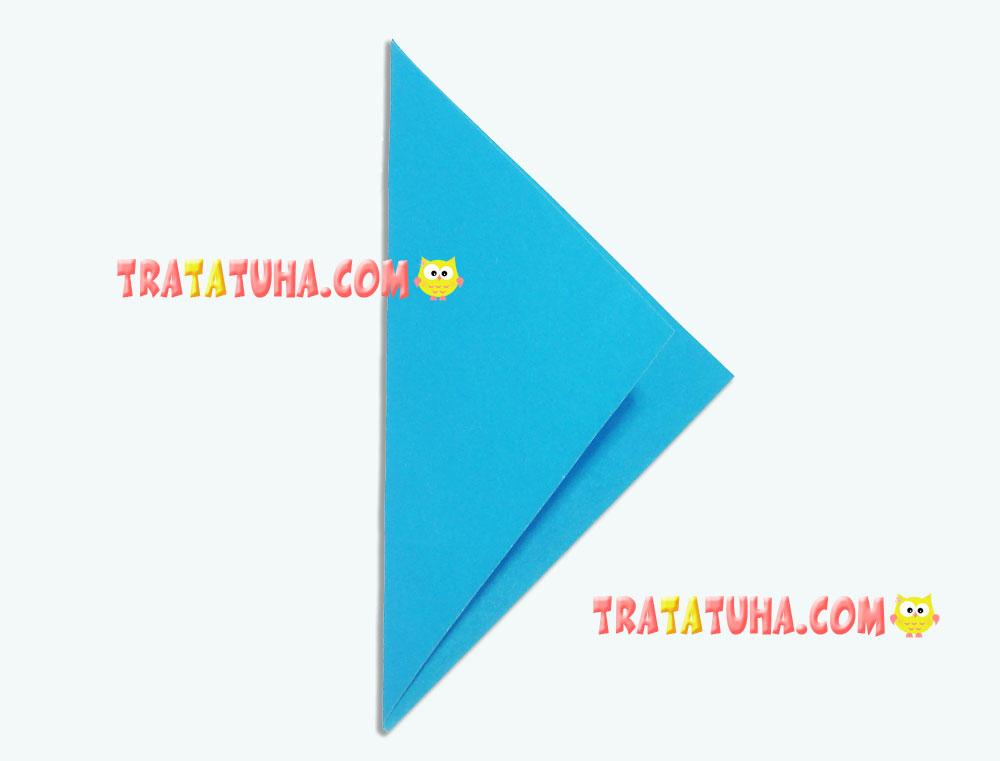 Origami: SHARK - Origami easy tutorial - YouTube | 761x1000