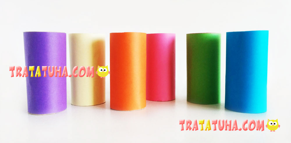 Toilet Paper Roll Caterpillar Pencil Holder