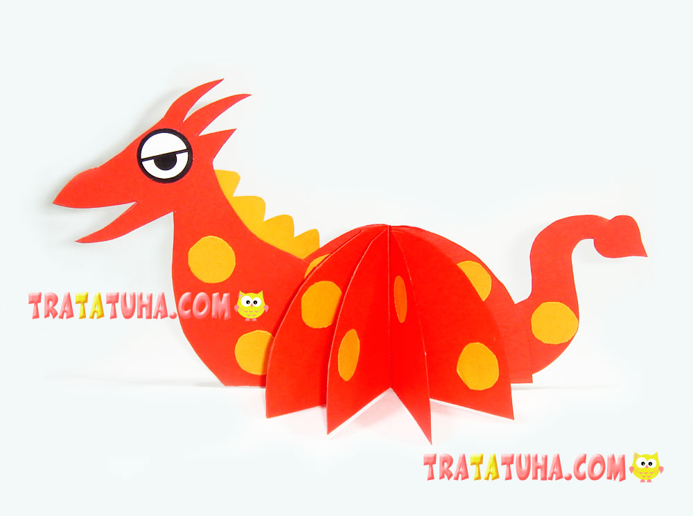 How to make Origami Dragon – Flapping Dragon | How To Make Origami ... | 745x1000