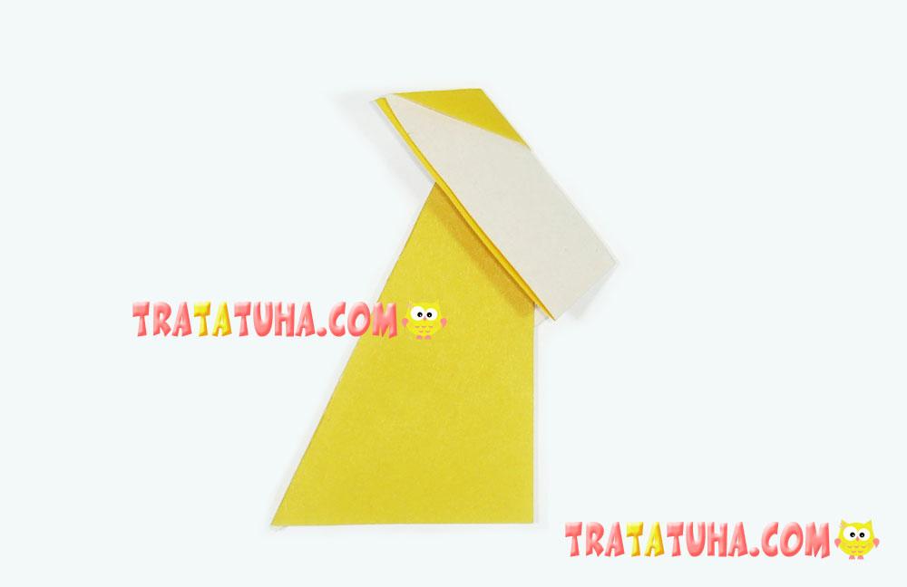 origami fox for kids