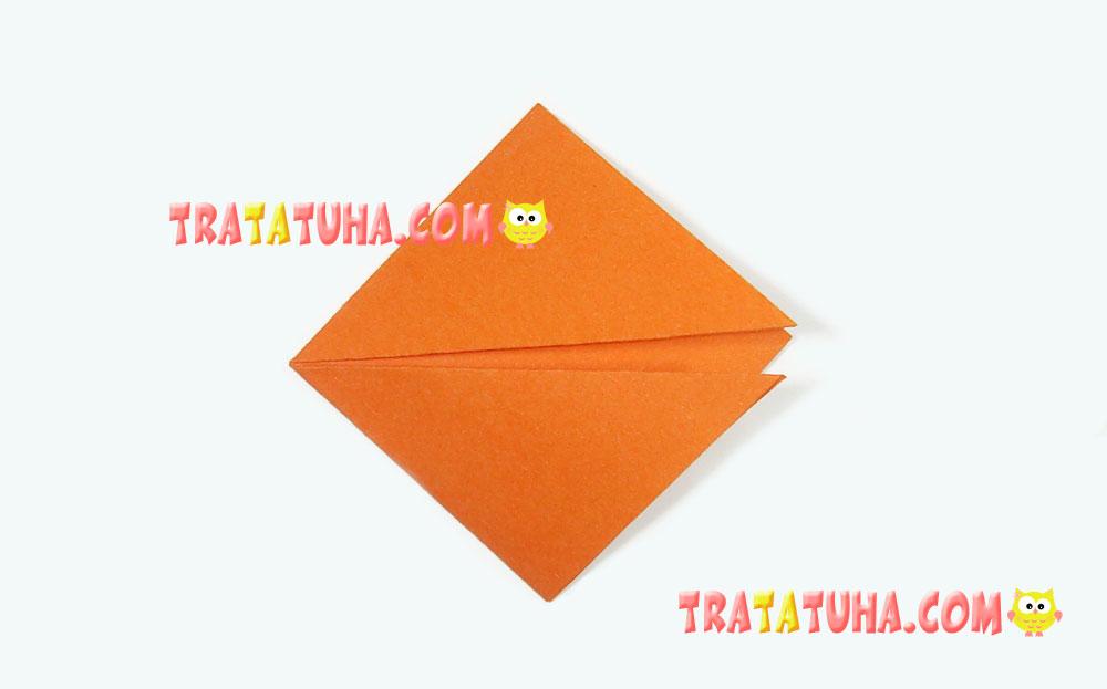 Easy Origami Fox