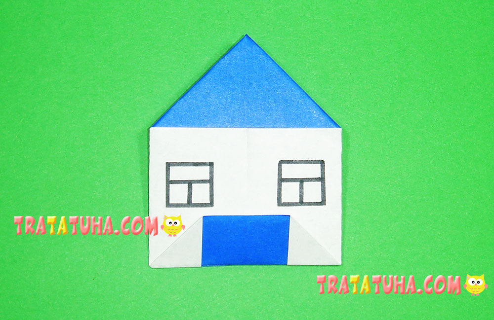 Easy Origami House