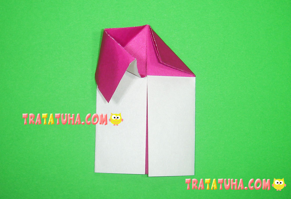how to make origami house