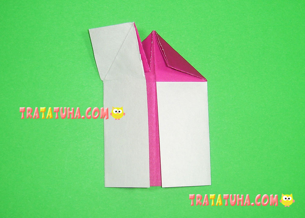 Paper House 3D - How to make an Origami House easy step by step ... | 714x1000