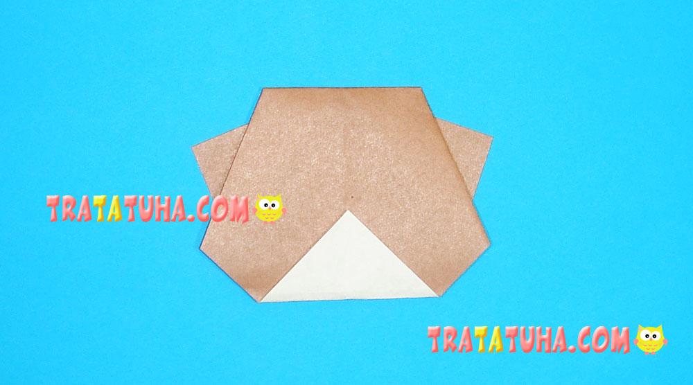 origami kitten