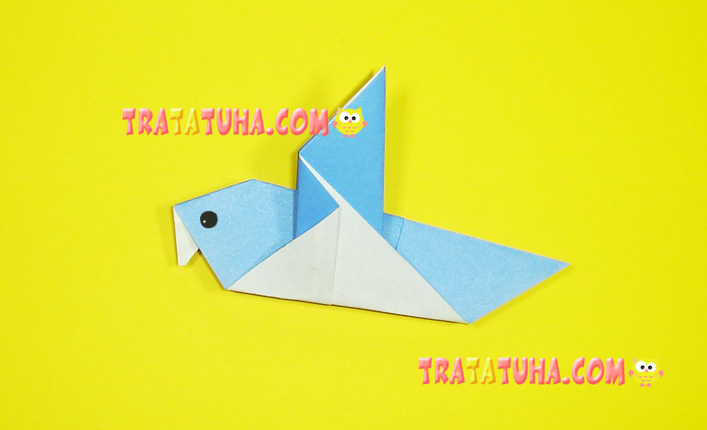 Origami Dove Best Origami Images On Origami Paper Paper Crafts ... | 609x1000