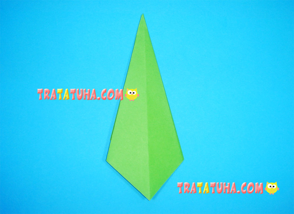origami tree for kids