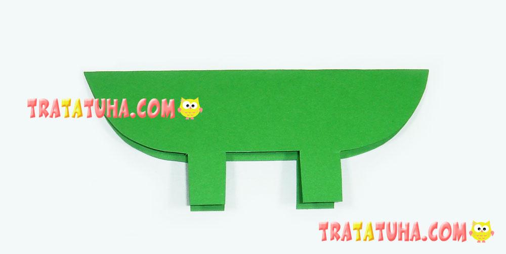 paper crocodile
