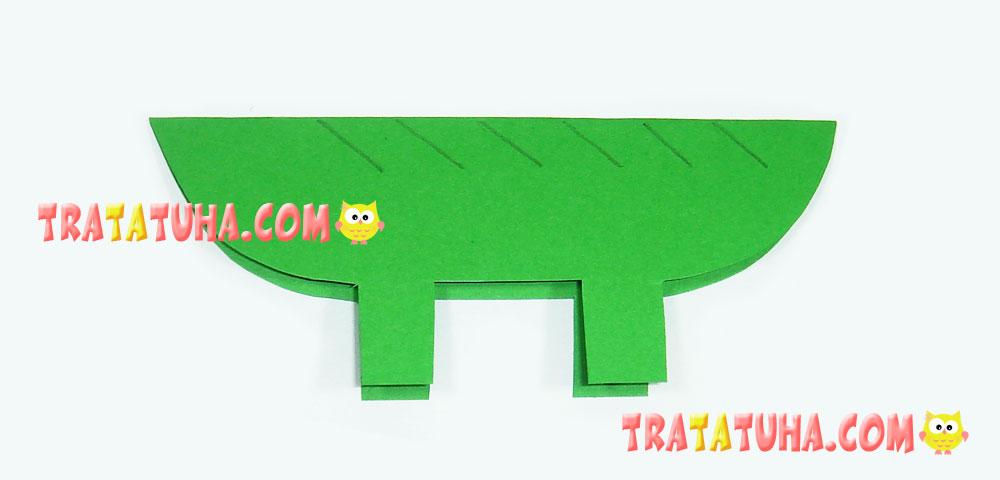 craft crocodile