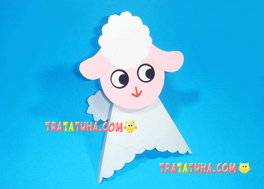 Paper Sheep Craft