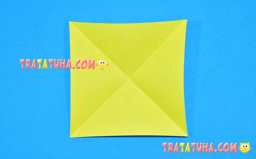Origami Triangular Box | 624x1000