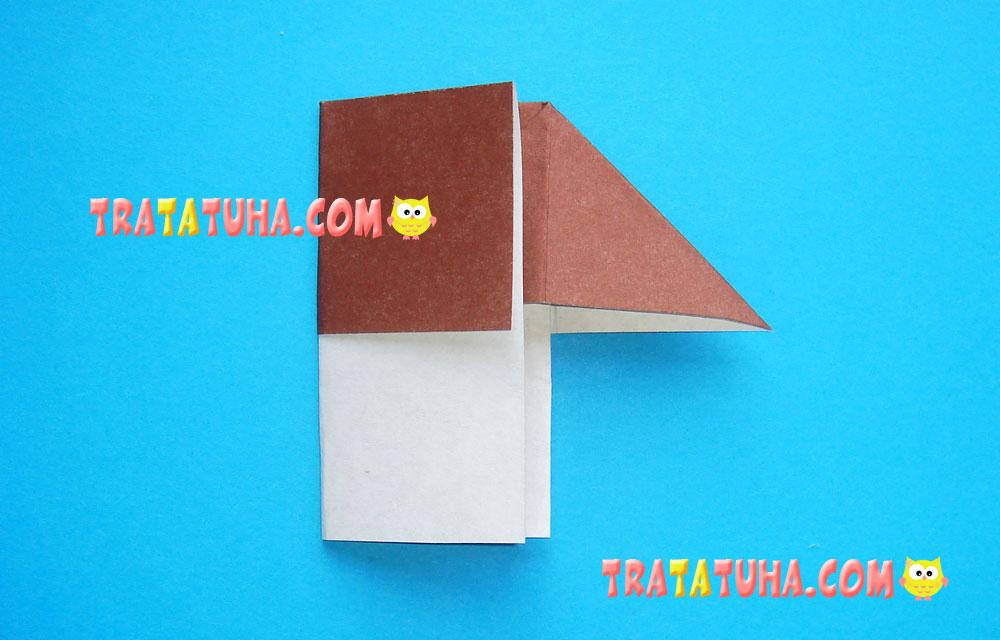 Origami Boletus Mushroom