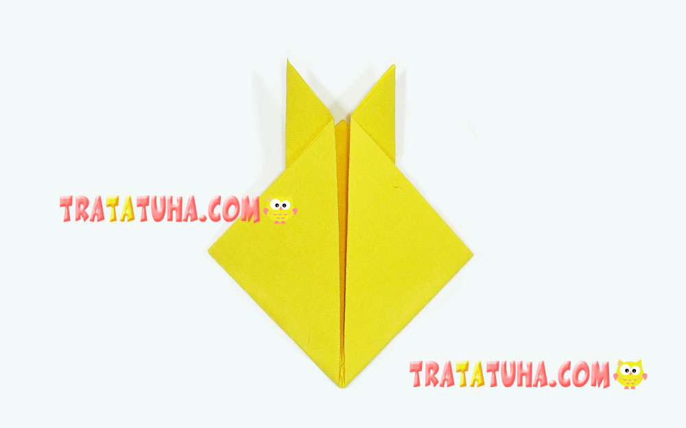 Origami Rabbit for Kids