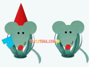 Mouse of Paper Strips
