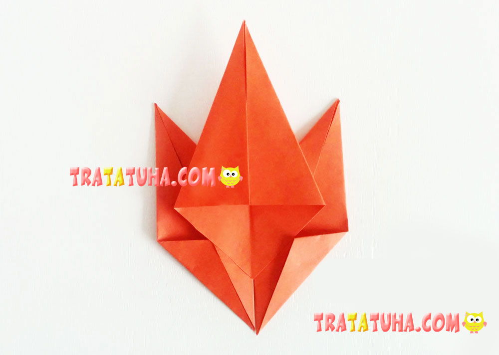 maple leaf of paper