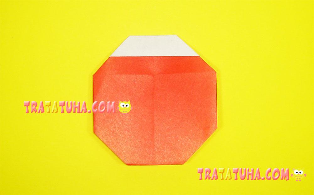 Origami Ladybug for Kids