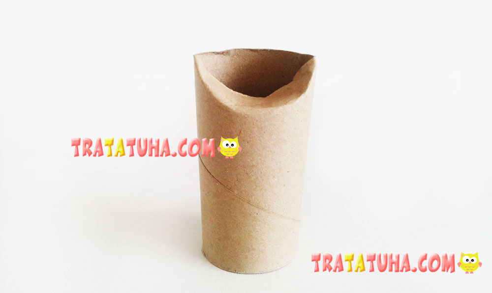 Toilet Paper Roll Cat