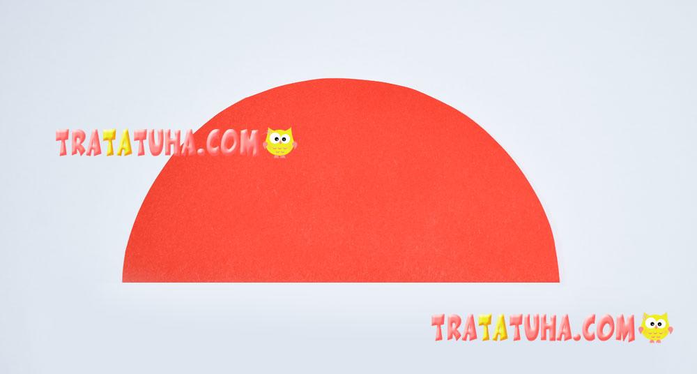 Ladybug of Accordion Paper