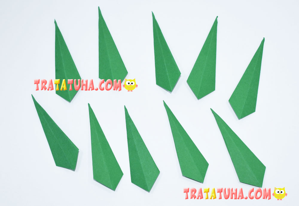 Origami Rowanberry Craft