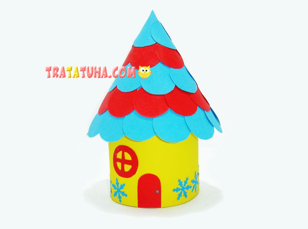 Little fairy-tale paper house